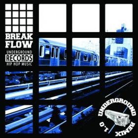 Underground hip hop music \'\'breakflow\'\'