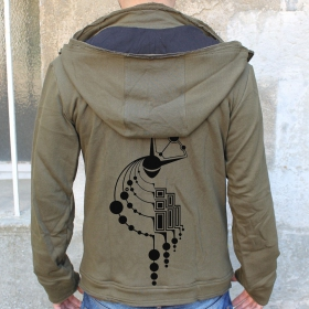 "Veste jungle therapy ""crop circles"""