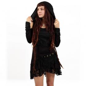"""Jupe """"Lace Wrap"""", Noir"""