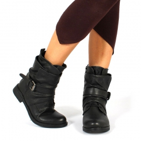"Bottines ""Nandini"", Noir"