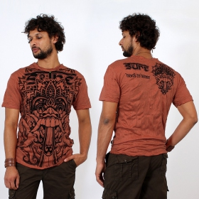"T-shirt ""Bali Dragon"", Orange"