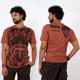 "T-shirt ""Bali Dragon"", Orange"