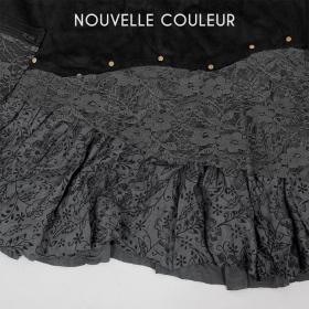 """Jupe """"Chimey"""", Noir gris"""
