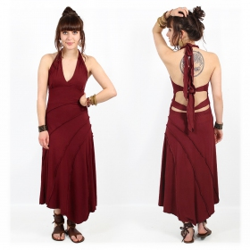 "Robe ""Kaylah"", Bordeaux"