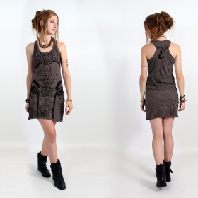 "Robe ""Ganesh Eye"", Taupe"