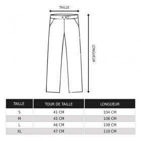 Pantalon Molecule 45030, Noir