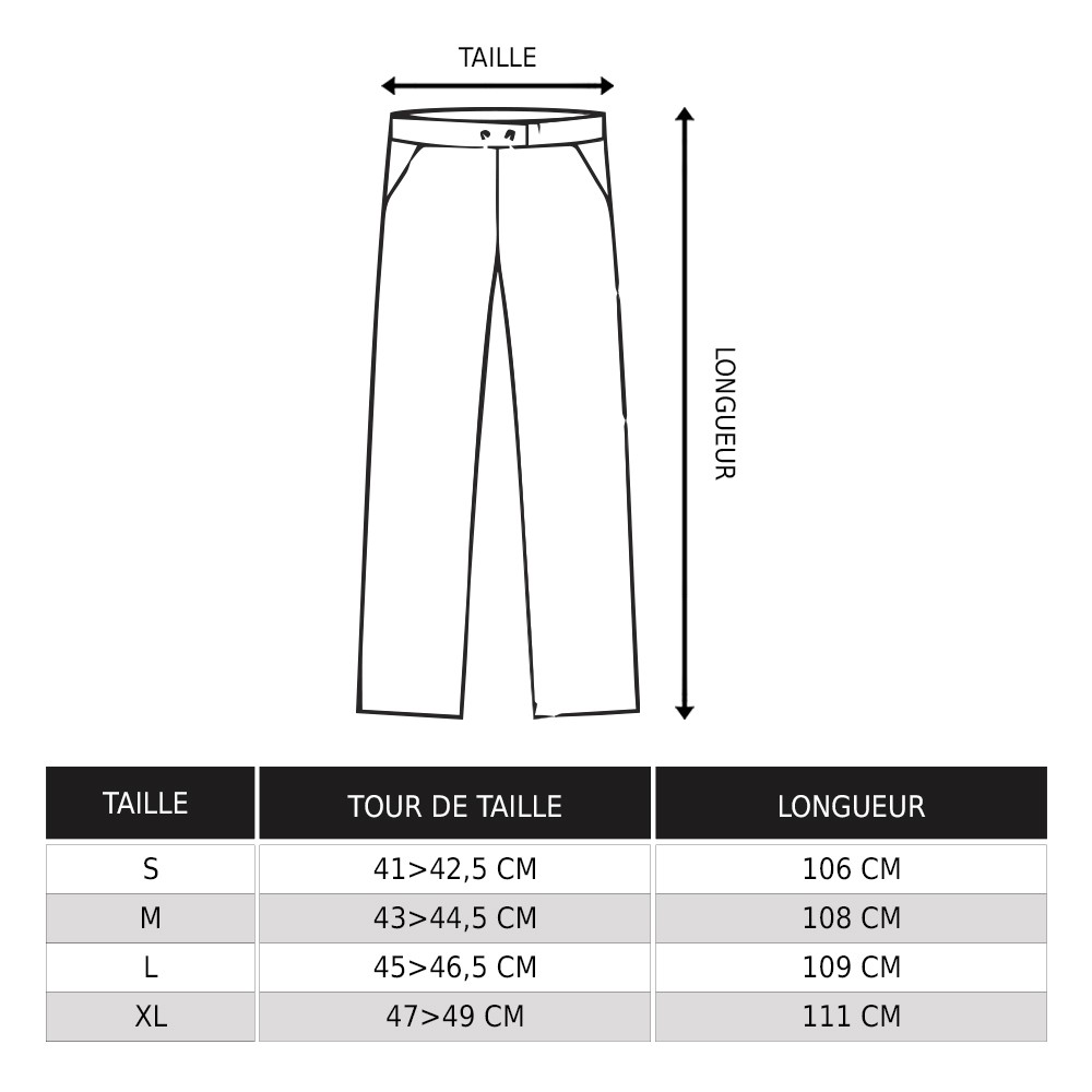 Pantalon Molecule 50005, Gris