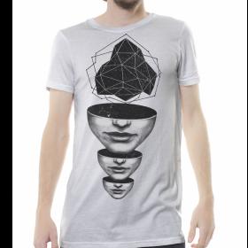 """T-shirt """"Master Mind"""", Blanc cassé"""