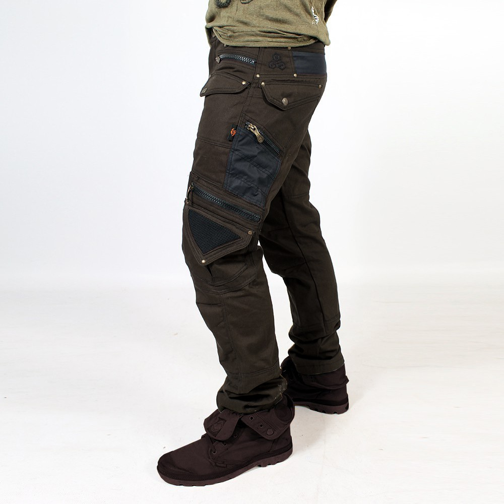 "Pantalon ""Alternative"", Marron foncé"