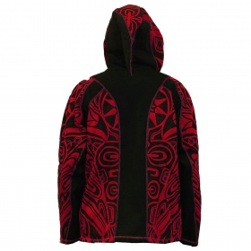 "Veste lutin ""Skywalker Haida"", Rouge"