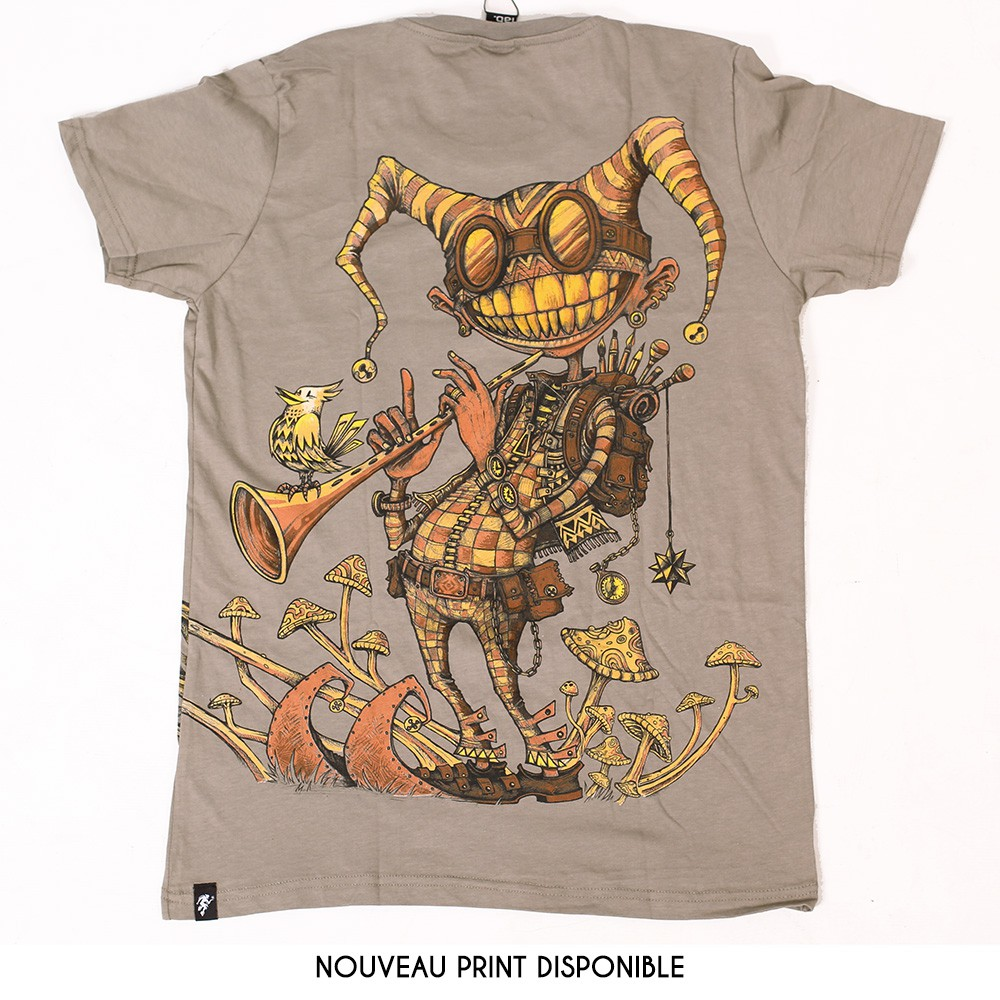 """T-shirt """"Fiddler"""", Stone"""