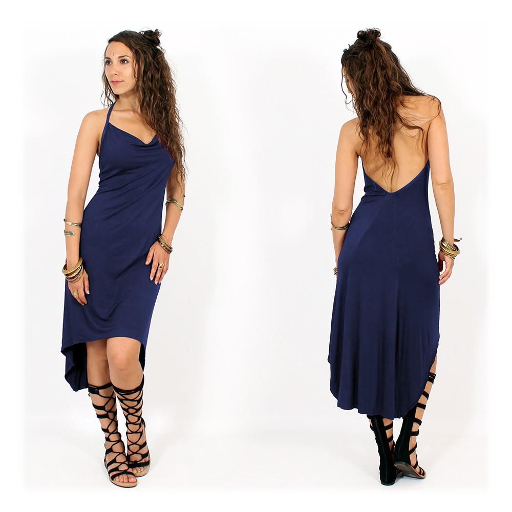 "Robe ""Trisha"", Bleu nuit"