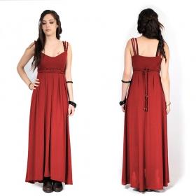 "Robe longue ""Massaläa"", Rouge"