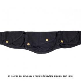 "Ceinture poche ""Khurula"", Noir"