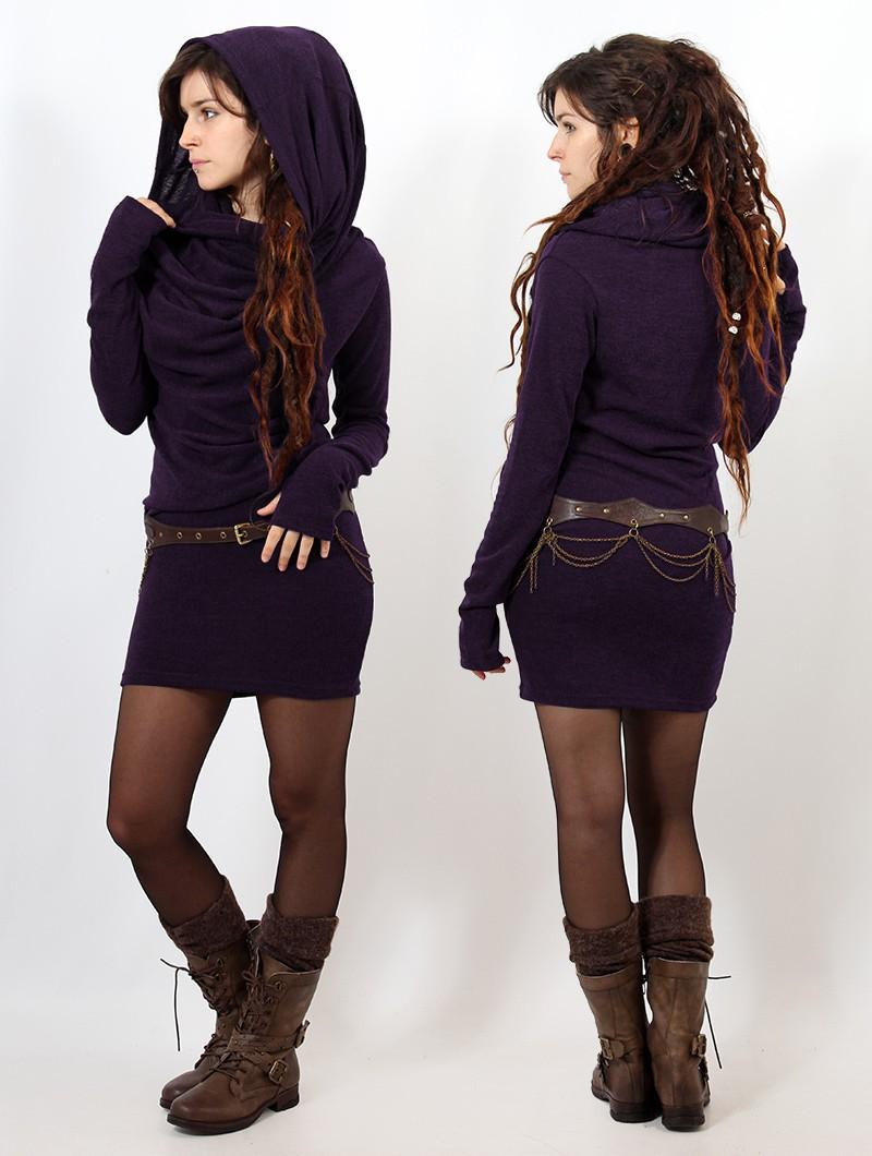 "Robe pull ""Kali"", Violet"