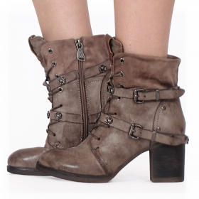 "Bottines ""Olwë"", Taupe"