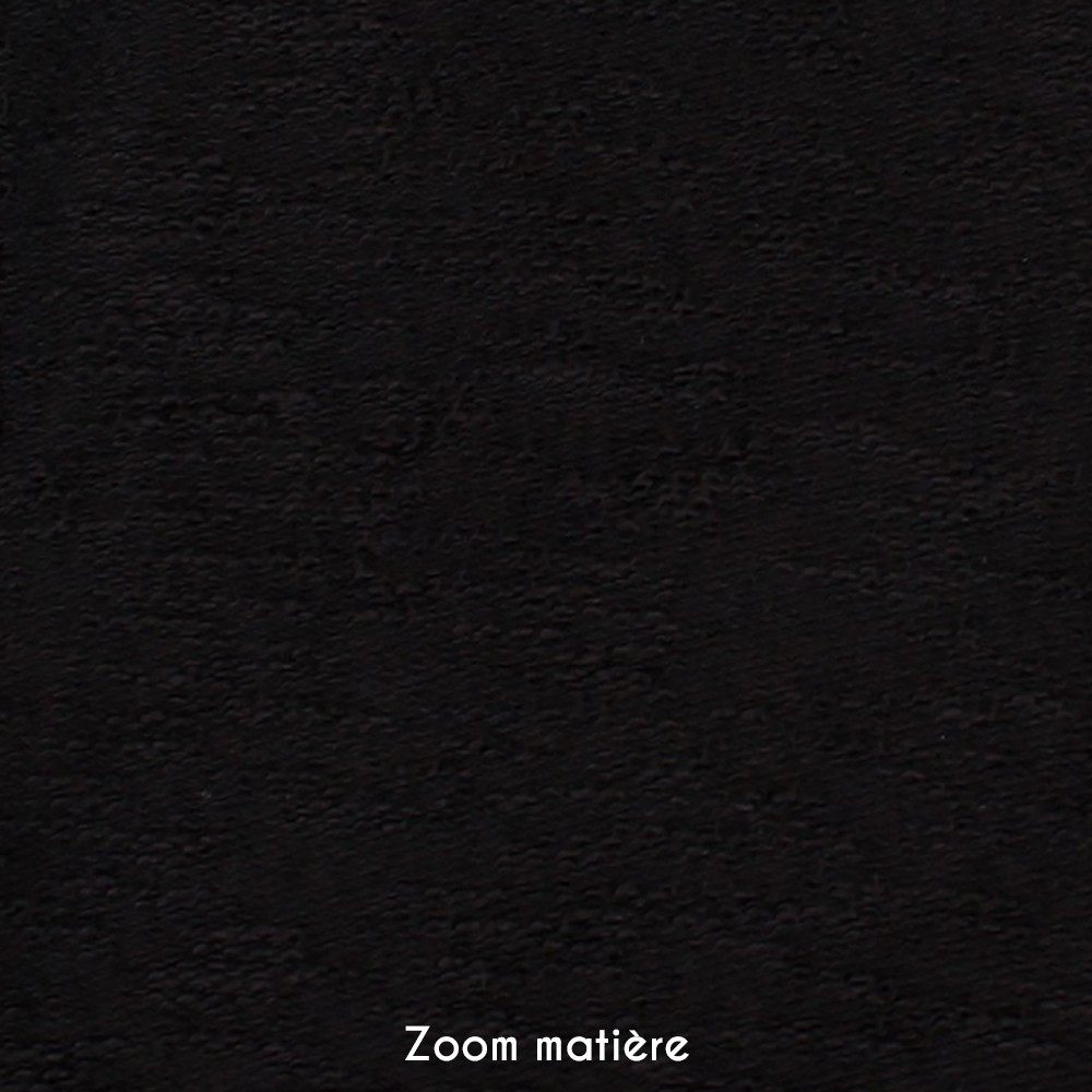 """Pull zippé """"Token"""", Noir"""