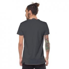 """T-shirt """"Yogi Traveller"""", Gris foncé"""