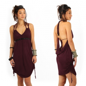 "Robe ""Greek"", Prune"