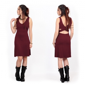 "Robe ""Winona"", Bordeaux"