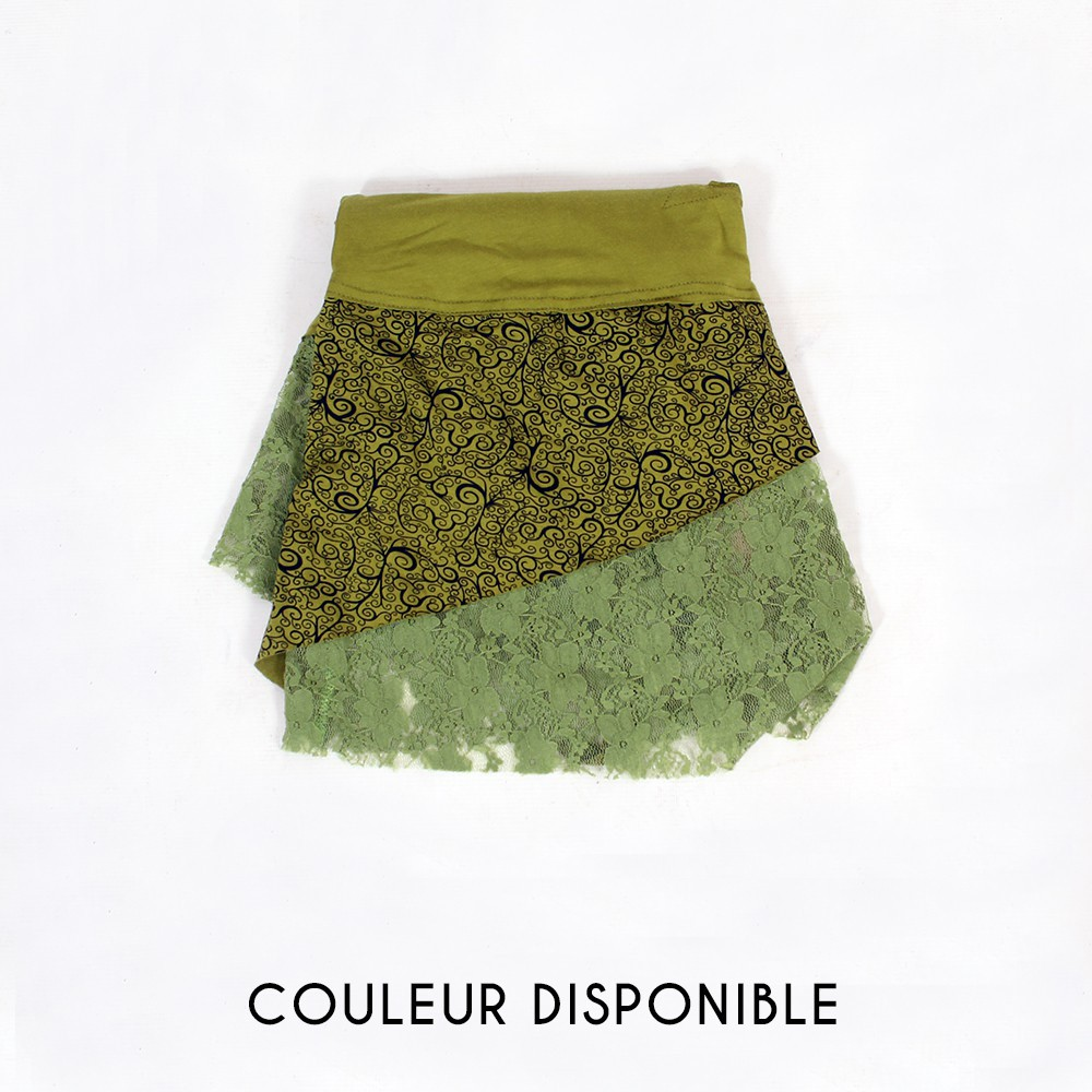 "Robe ""Tarmy"", Vert mousse"