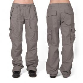 Pantalon baggy Molecule mixte, Gris