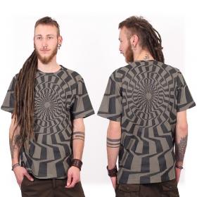 """T-shirt """"Vortex"""", Gris"""