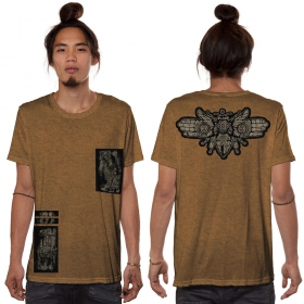 "T-shirt ""Amarth"", Moka chiné"