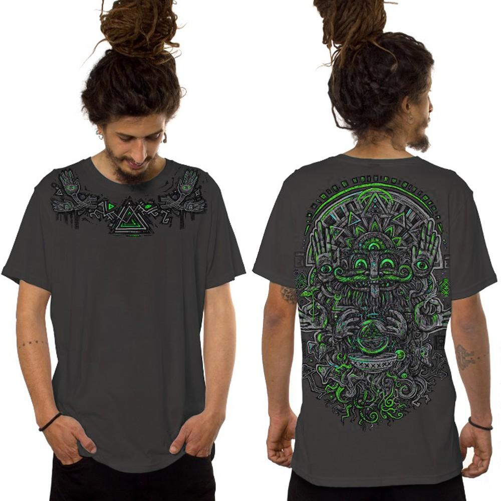 """T-shirt """"Magi"""", Gris foncé"""