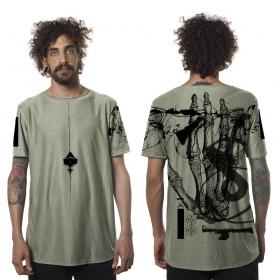 "T-shirt ""Flint"", Vert kaki"