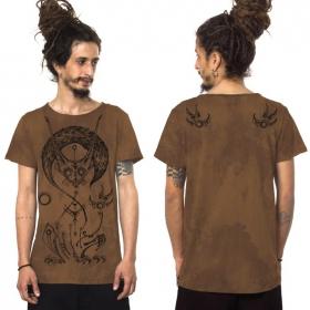 """T-shirt """"Taliz"""", Moka chiné"""