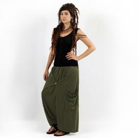 "Sarouel ""Anju"", Vert kaki"