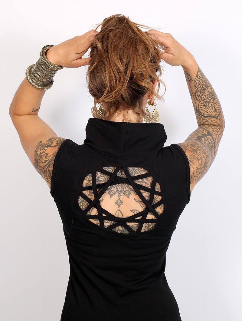 """Robe """"Athena"""", Noir"""