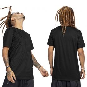 """T-shirt """"Tierra Pollux"""", Noir"""
