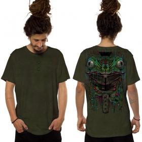 """T-shirt """"Kambo"""", Kaki foncé"""
