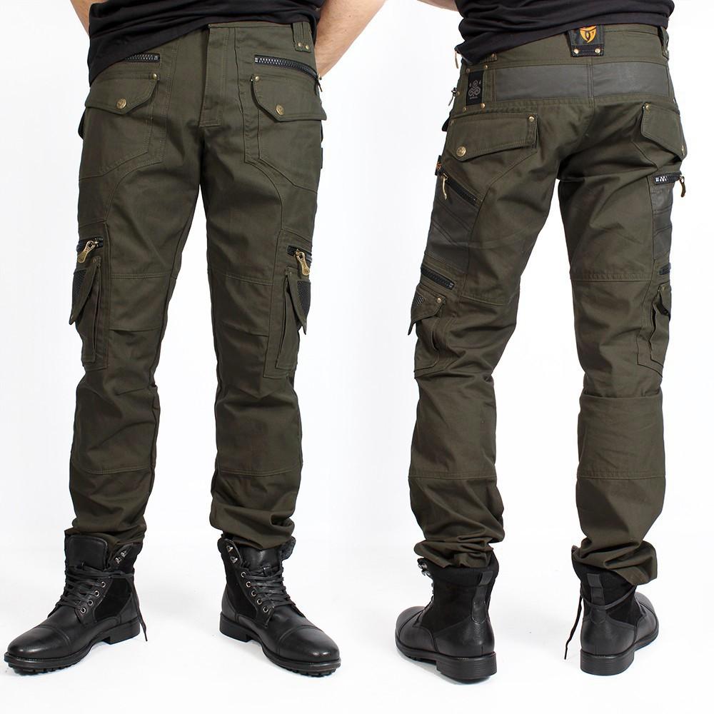 """Pantalon """"Alternative"""", Vert kaki foncé"""