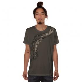"""T-shirt """"Jelly Lab"""", Gris foncé"""
