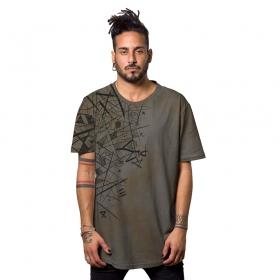 "T-shirt ""Sprink"", Gris rouille"