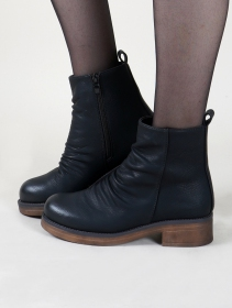 "Bottines ""Keertana"", Noir"