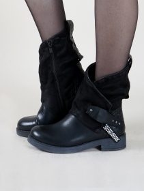 "Bottines ""Saryu"", Noir"