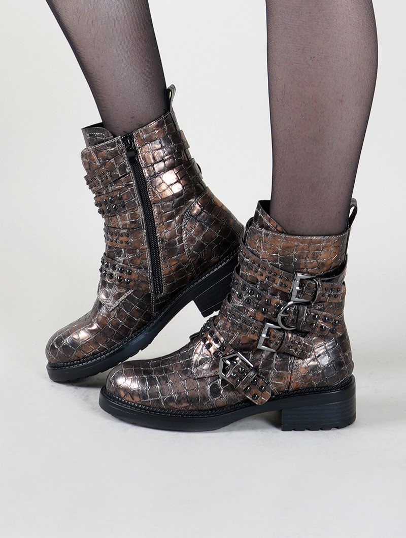 "Bottines ""Kokila"", Marron"