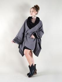 """Veste longue kimono """"Melian"""", Gris"""