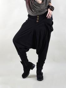 "Pantalon sarouel ""Amira"", Noir"