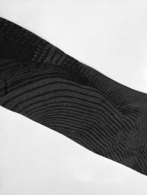 """T-shirt manches longues unisexe """"Okinami"""", Noir"""