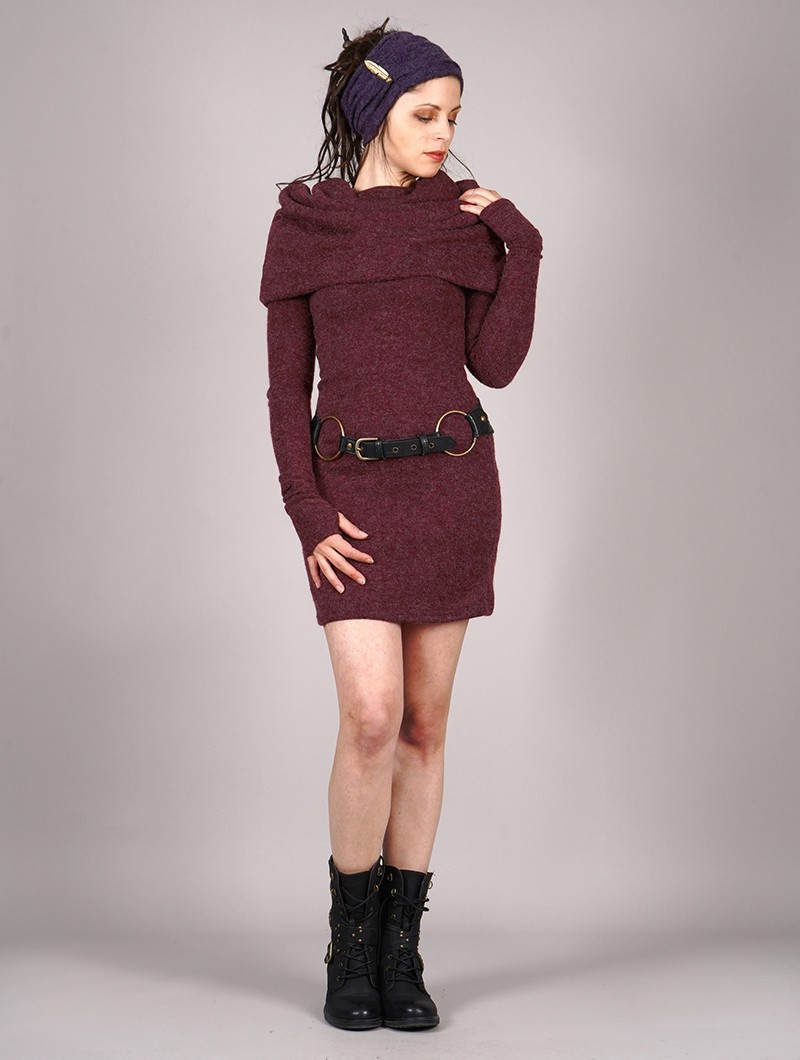 "Robe pull ""Mantra"", Bordeaux"