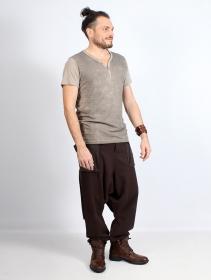 """Unisexe - Pantalon sarouel """"Ifarit"""", Marron"""