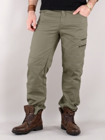 "Pantalon cargo ""Isildur"", Vert kaki"