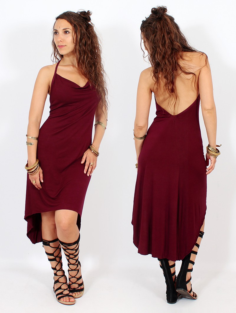 "Robe ""Trisha"", Bordeaux"
