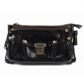 """2en1 sac à main/ceinture poche \""""Saagar\"""", Noir"""