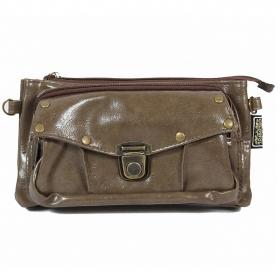 """2en1 sac à main/ceinture poche \""""Saagar\"""", Olive"""